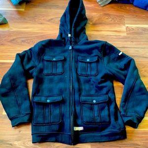 Altamont hoodie fuzzy inside